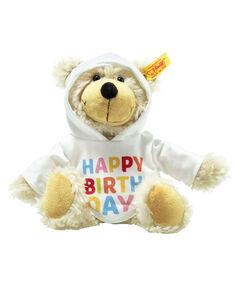 """Kinder Stofftier """"Charly Schlenkerteddy Happy Birthday"""""""