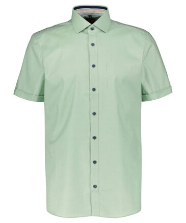 OLYMP Level Five - Herren Hemd Body Fit / Slim Fit Kurzarm