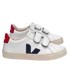 "Kinder Sneaker ""Esplar Extra White Nautico Pekin"""