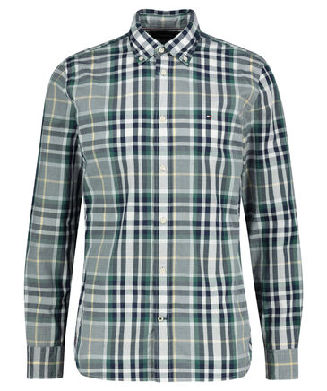 "Tommy Hilfiger - Herren Hemd ""Midscale Check Shirt"" Regular Fit Langarm"