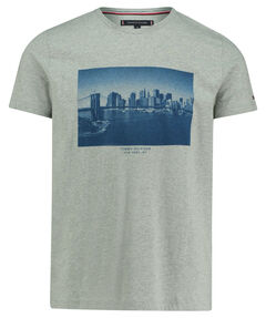 "Herren T-Shirt ""Skyline Photo Print Tee"""