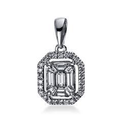 Damen Diamant-Kettenanhänger