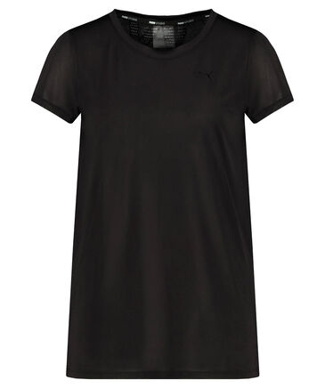 "Puma - Damen Trainingsshirt ""Studio Lace Keyhole"" Kurzarm"