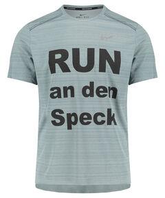 """Herren Laufshirt """"RUN an den Speck"""" Kurzarm"""