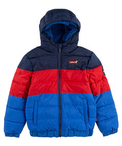 "Jungen Steppjacke ""Color Block Puffer"""