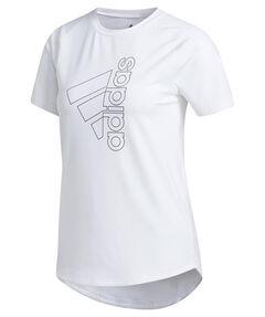 """Damen Trainingsshirt """"Badge of Sport"""" Kurzarm"""