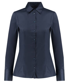 "Damen Hemdbluse ""The Fitted Shirt"" Langarm"