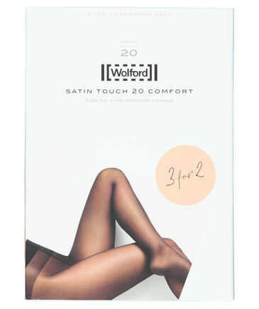 """Wolford - Damen Strumpfhose """"Satin Touch 20 Comfort Tights 3 for 2"""" 3er-Pack"""