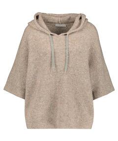 Damen Pullover mit Kapuze 3/4-Arm
