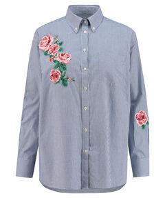 "Damen Hemdbluse ""Embroidered Rose"""