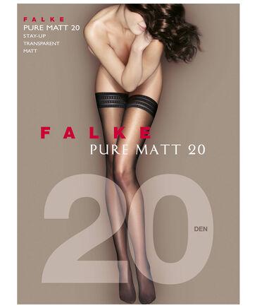 "Falke - Damen Halterlose Strümpfe "" Pure Matt 20 """