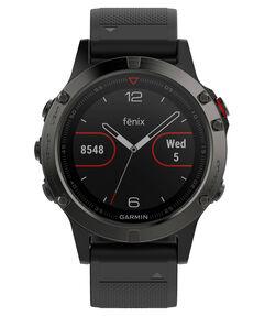 """GPS-Multifunktionsuhr """"fenix5"""" grau/schwarz"""