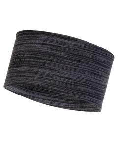 "Stirnband ""Merino Wool Headband Castlerock Grey Multi Stripes"""