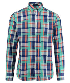 "Herren Hemd "" Madras Irregular"" Regular Fit Langarm"