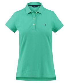 """Damen Poloshirt """"The Summer Pique"""" Regular Fit Kurzarm"""