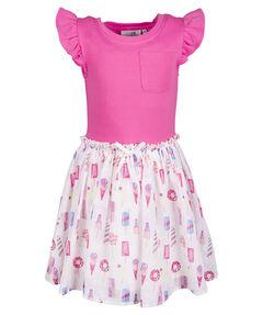 Mädchen Jerseykleid Kurzarm