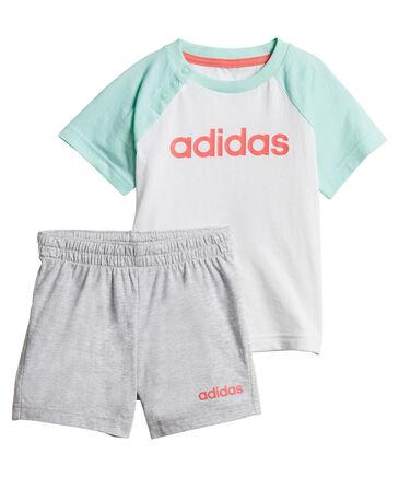 "adidas Performance - Mädchen Baby Trainingsanzug ""Linerar Summer Set"""