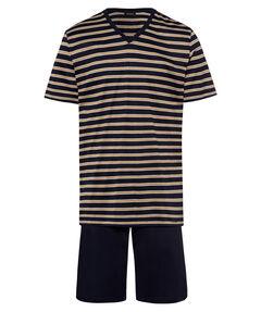 Herren Pyjama Kurz