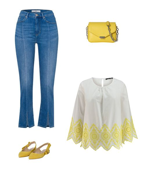 Outfit - Sonnengelb