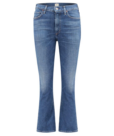 "Citizens of Humanity - Damen Jeans ""Demy"" Flared Fit Cropped"