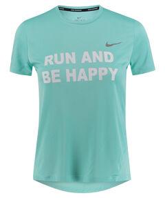 "Damen Laufshirt ""Run and be Happy"" Kurzarm"