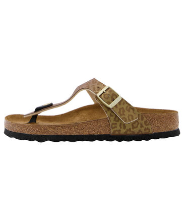 """Birkenstock - Damen Sandale """"Gizeh Leopard Gold"""""""