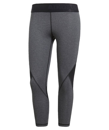 "adidas Performance - Damen 3/4-Trainingstights ""Alphaskin Sport Heather"""