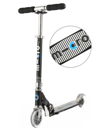 "Micro - Scooter / Roller ""Sprite"" Special Edition Black Stripe"