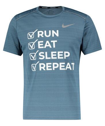 "Nike - Herren Laufshirt ""Run, eat, sleep, repeat"" Kurzarm"