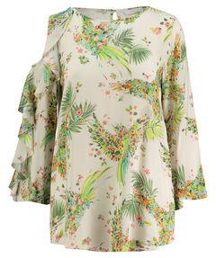 Damen Bluse Loose Fit 7/8-Arm