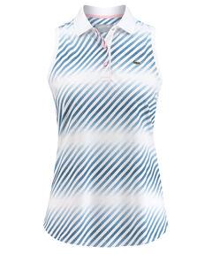 Damen Tennis-Poloshirt Ärmellos