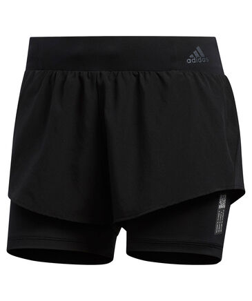 "adidas Performance - Damen Laufshorts ""Adapt Short 2 in 1"""