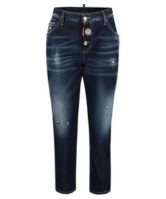 "Damen Jeans ""Cool Girl"" Slim Fit vekürzt"