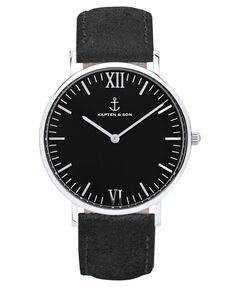 "Damen Armbanduhr ""Campus Black All Black Vintage"" 40 mm"