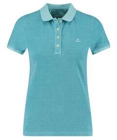 "Damen Poloshirt ""Sunfaded Pique Rugger"" Kurzarm"