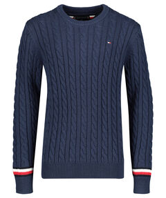 "Jungen Pullover ""Essential Cable Sweater"""