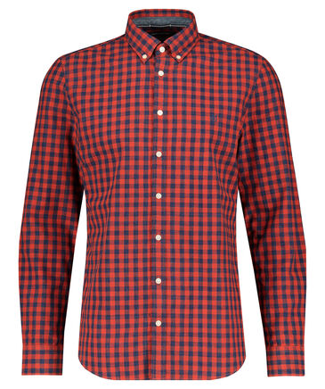 Marc O'Polo - Herren Hemd Shaped Fit Langarm