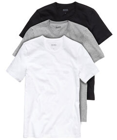 Herren Unterhemden Dreierpack