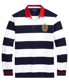 Herren Rugbyshirt Classic Fit Langarm