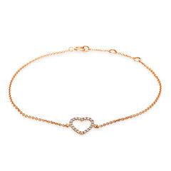 """Damen Diamantarmband """"Herz"""""""