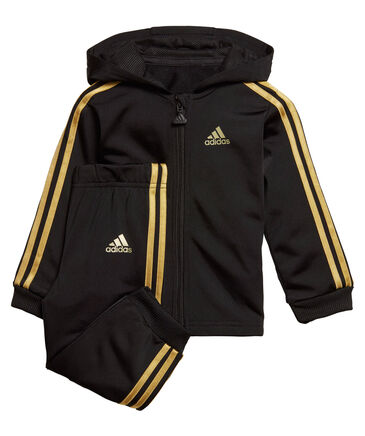 "adidas Performance - Jungen Kleinkind Trainingsanzug ""Shiny Hooded"""