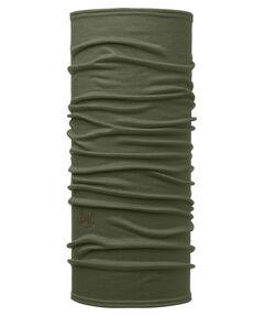 "Multifunktionstuch ""Lightweight Merino Wool Solid Bark"""