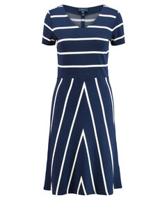 "Damen Kleid ""Striped Flared"""