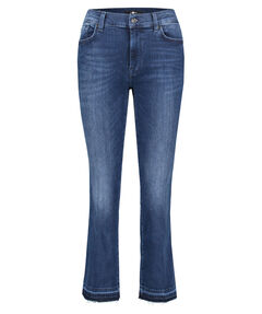 "Damen Jeans ""Cropped Boot Unrolled Slim Illusion Integrity"" Slim Fit verkürzt"