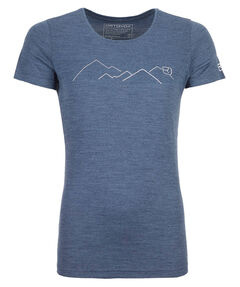 """Damen T-Shirt """"185 Merino Wool T-Shirt"""" Kurzarm"""