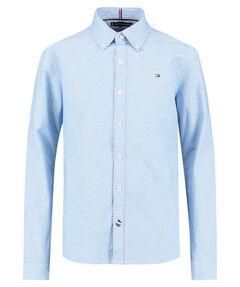 "Jungen Hemd ""Mini Print Shirt L/S"" Regular Fit Langarm"