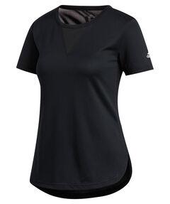 "Damen Trainingsshirt ""3-Stripes Heat.Rdy"" Kurzarm"
