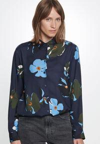 Damen Bluse Regular Fit Langarm
