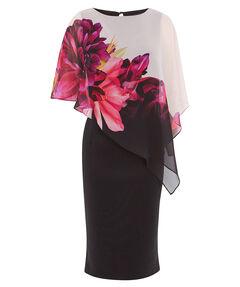 "Damen Kleid ""Florence Print Overlayer Dress"""