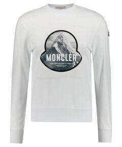 """Herren Sweatshirt """"Mountain Print"""""""